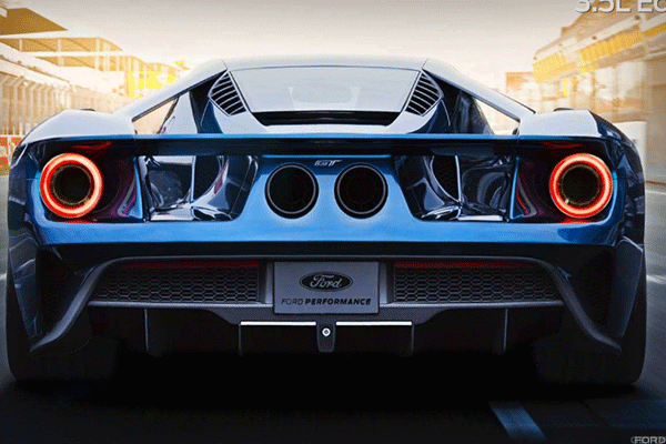 Dive deep into the Ford GT's five different drive modes