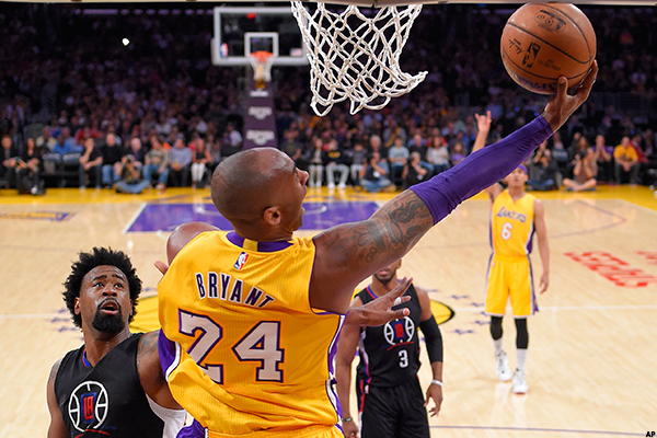 a09f25fed9f4 Kobe Bryant Still Has a Ways to Go to Catch Up to Michael Jordan in One  Respect