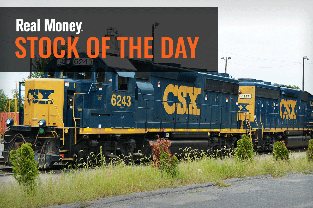 CSX Heading Down? I'll Let This Train Pass Me by - RealMoney