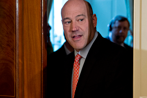 Gary Cohn's Exit From Team Trump Would Be a Major Blow to Wall Street