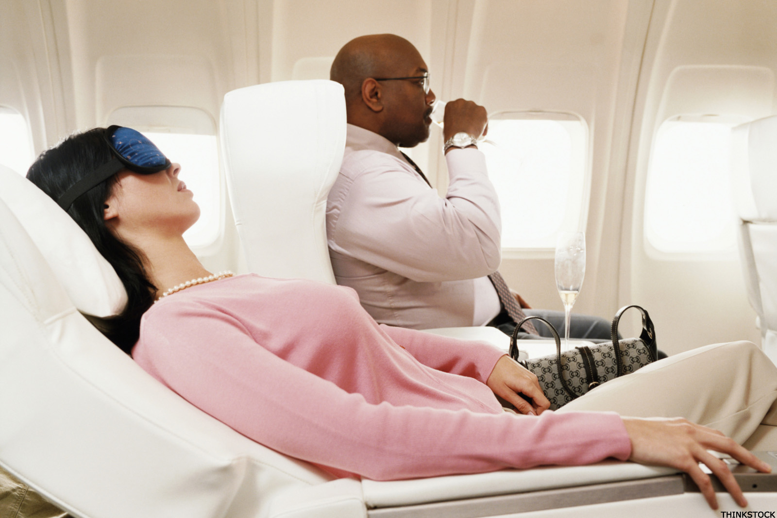 How to Fly in the Front of the Plane - on the Cheap, Maybe for Free