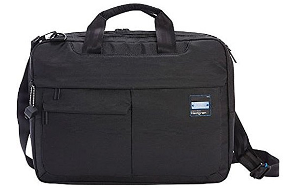 Great for use in any field, the Hedgren Tax is a bag made for the every  man. It s sleek, black, and durable. It can hold your laptop, a lunch, ... 473a2bee35