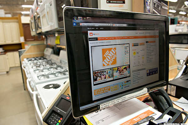 how home depot grew its online sales by over 1 billion last year thestreet. Black Bedroom Furniture Sets. Home Design Ideas