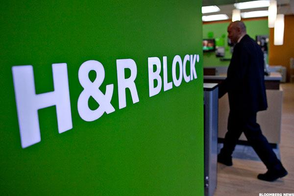NEW YORK ( TheStreet ) -- H&R Block ( HRB ) shares are sliding 5.02% ...