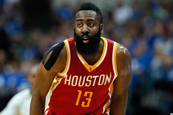 Will James Harden's biggest contract in National Basketball Association history backfire on the Rockets?