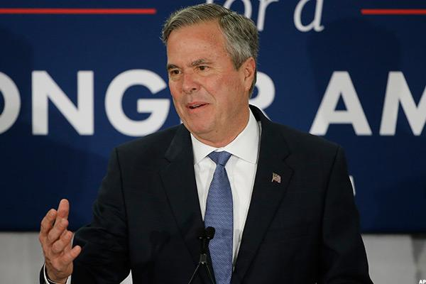 Jeb Bush: I told you Trump would be 'chaos president'