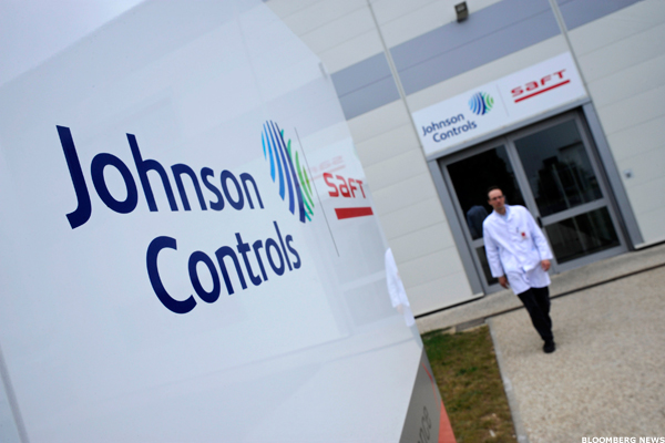 Johnson controls employee stock options
