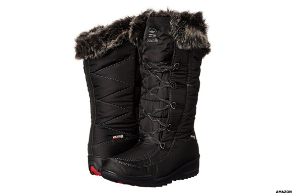 Original SOREL WOMENS CATE THE GREAT SNOW WINTER BOOTS LACE UP LEATHERSUADE