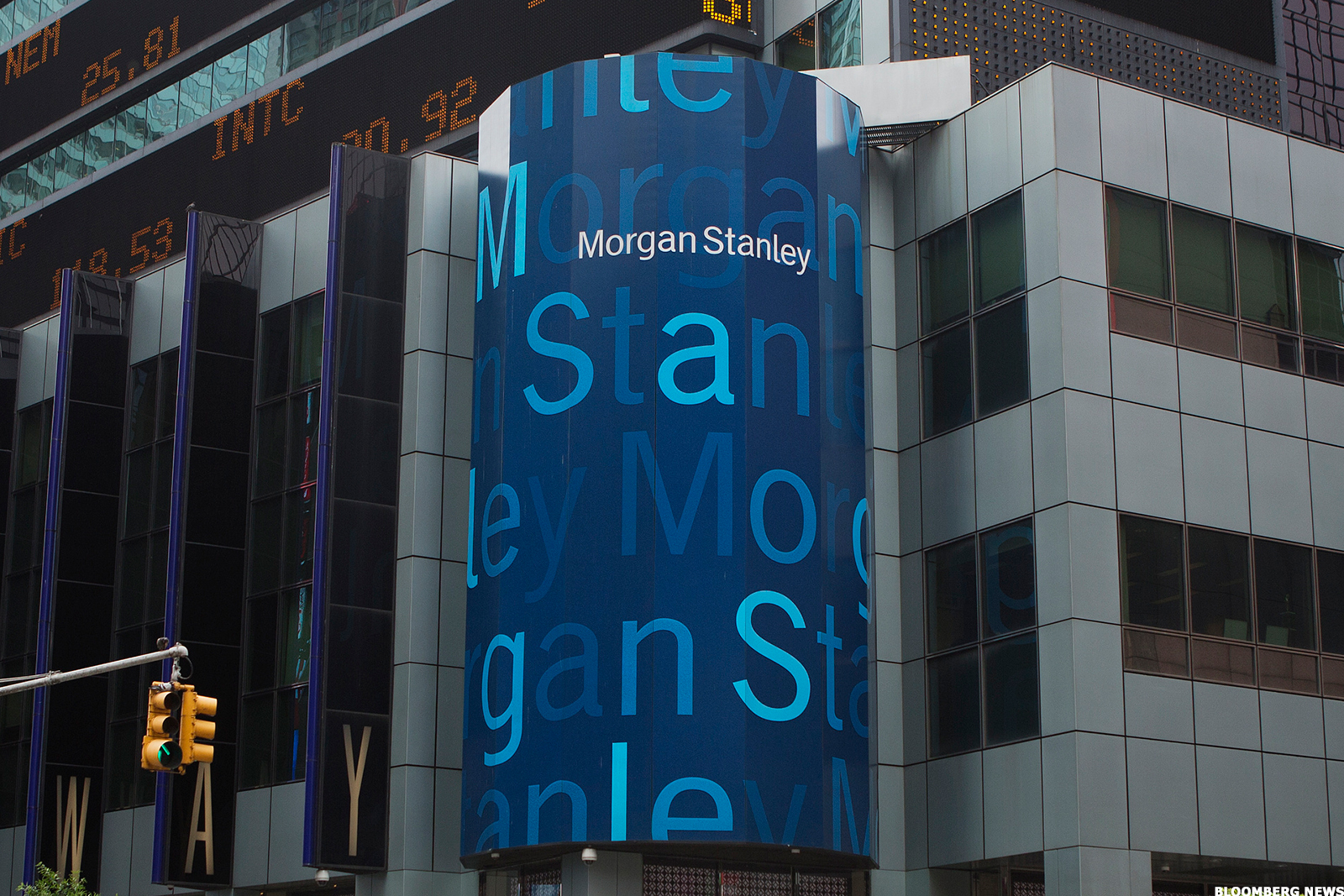 Morgan Stanley S Wealth Management Record Softens Blow