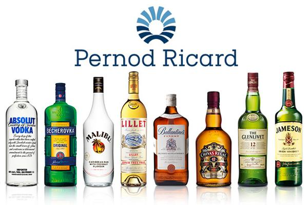 Pernod Ricard Forecasts Profit Growth as U.S., Spain Drive Sales
