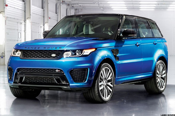 The New Hot SUV in Hollywood: Range Rover Sport - TheStreet