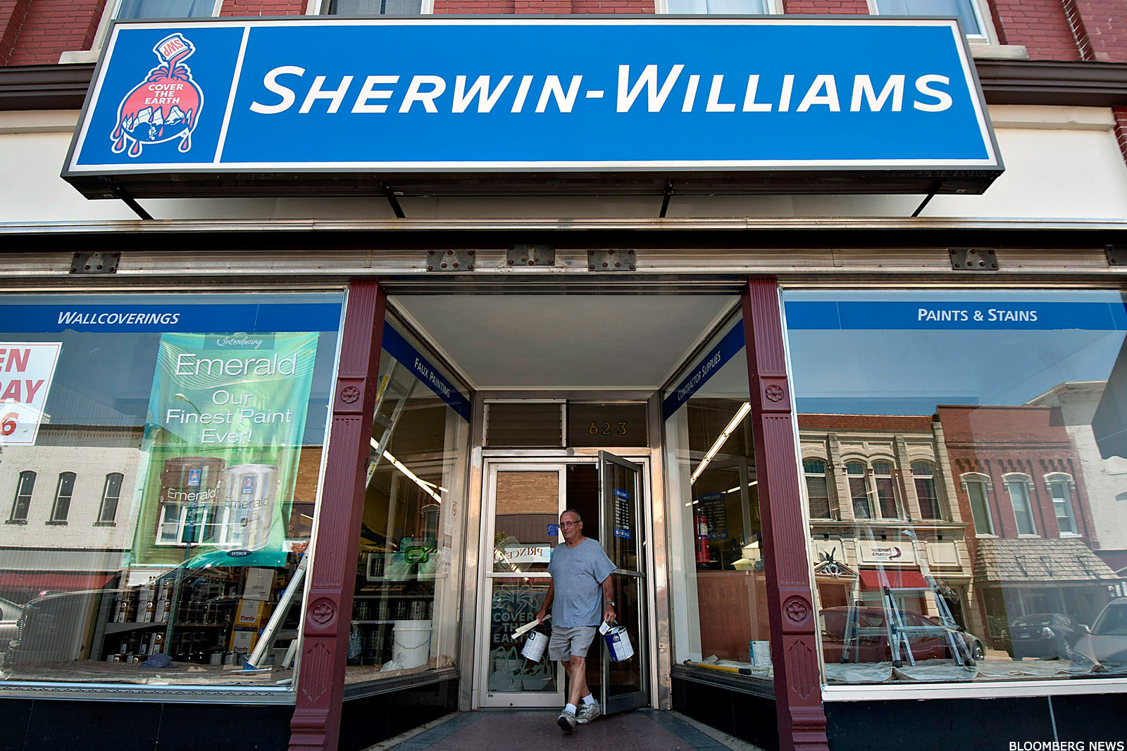 Sherwin Williams Stock Quote Sherwinwilliams Shw Stock Drops On Q3 Earnings Miss Guidance