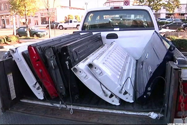 Pickup Owners Beware Thieves Are Targeting Your Tailgates
