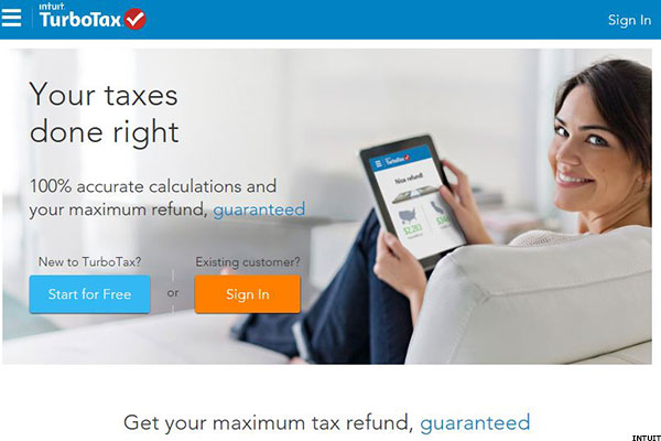 turbotax promo offering free federal and state online filing for simple returns