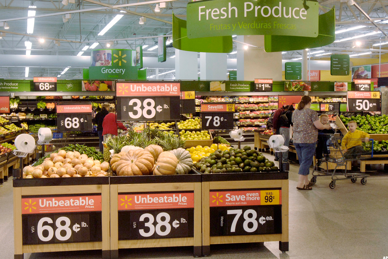 Wal-Mart and Target Are Being Crushed by Supermarkets in the ...