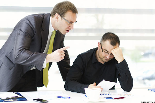 bullying in the work place Workplace bullying is a persistent pattern of mistreatment from others in the workplace that causes either physical or emotional harm.
