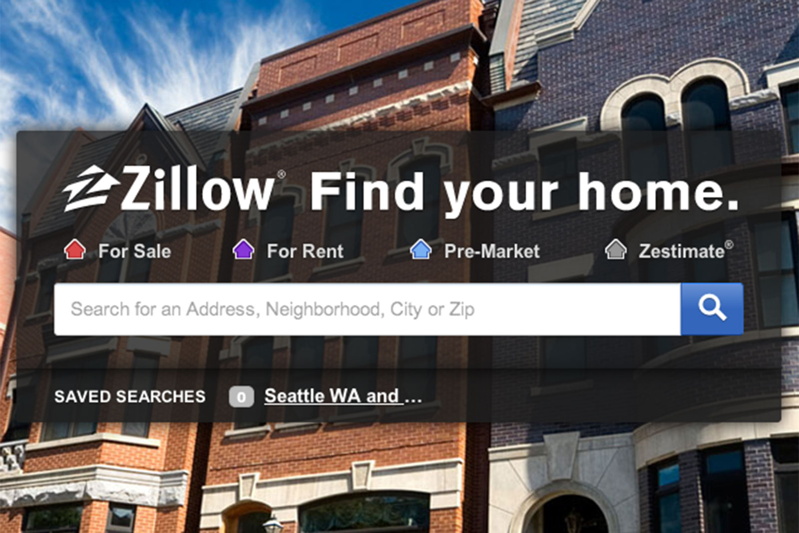 One reason why zillow zg stock is gaining today thestreet for Zillow stock quote
