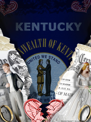 <b>6th Highest Divorce Rate: Kentucky (Tie)</b>