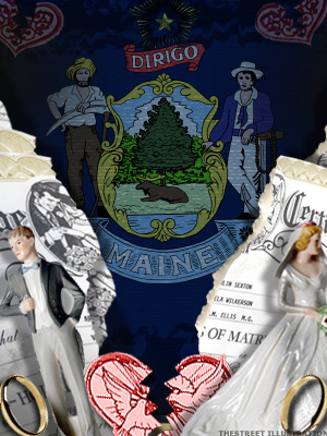 <b>2nd Highest Divorce Rate: Maine</b>