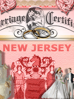 <b>2nd Lowest Divorce Rate: New Jersey</b>