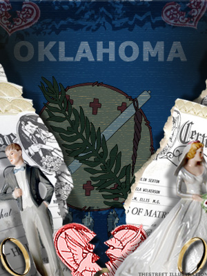<b>3rd Highest Divorce Rate: Oklahoma</b>