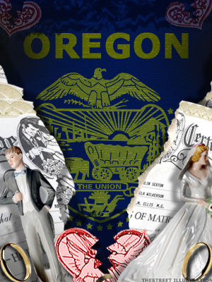 <b>4th Highest Divorce Rate: Oregon</b>