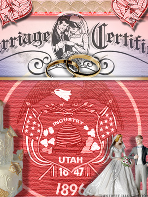 <b>7th Lowest Divorce Rate: Utah</b>