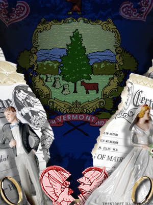 <b>5th Highest Divorce Rate: Vermont (Tie)</b>