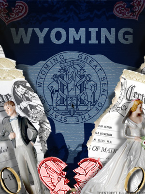 <b>5th Highest Divorce Rate: Wyoming (Tie)</b>