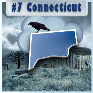 7th Most-Depressed State: Connecticut