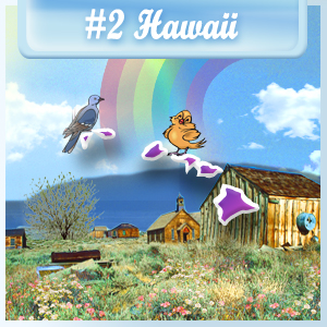 2nd Least-Depressed State: Hawaii