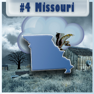 4th Most-Depressed State: Missouri