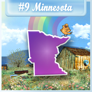 9th Least-Depressed State: Minnesota