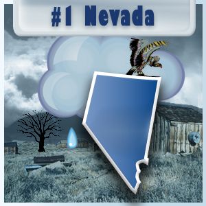 The Most Depressed State: Nevada