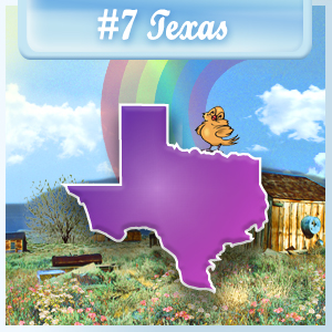 7th Least-Depressed State: Texas