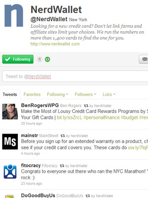 The Best Twitter Feeds for Credit Card Tips - TheStreet