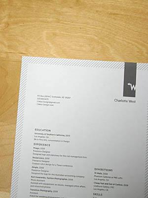 fancy resume paper