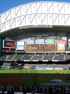 9th Most Expensive Ballpark: Minute Maid Park, Houston Astros