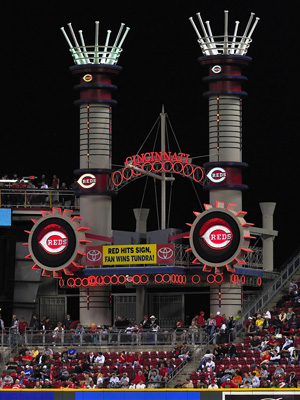 4th Least Expensive Ballpark: Great American Ball Park, Cincinnati Reds