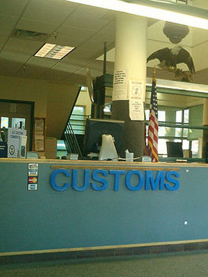 <b>Getting Past Customs</b>