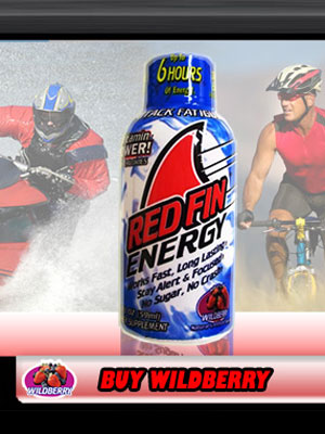 #18: Red Fin Energy Shot