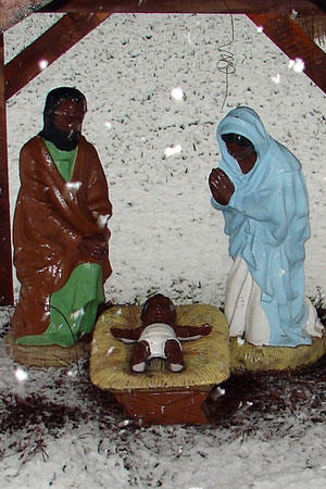 3. The guys in Verona, Italy who objected to a nativity scene because baby Jesus had dark skin…