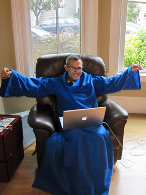 The Snuggie Arrives