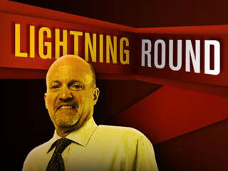 'Mad Money' Lightning Round: Stay Away From MasterCard