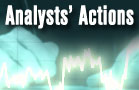Analysts' Actions: AAPL FMC JCP KAMN SWK