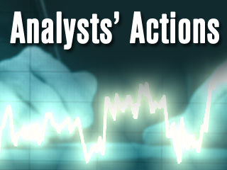 Analysts' Actions: AAP BIDU DO LLL TSLA