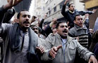 Stocks Pummeled by Egypt Unrest