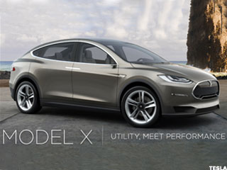 Tesla's Model X: A First Look