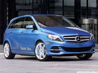 Driving the Mercedes Electric Car, All for $42,375.00
