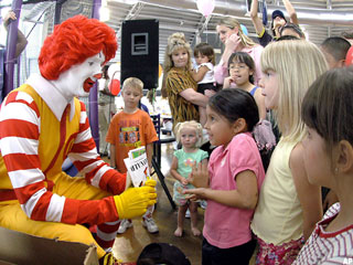 Should Ronald McDonald Be Retired?